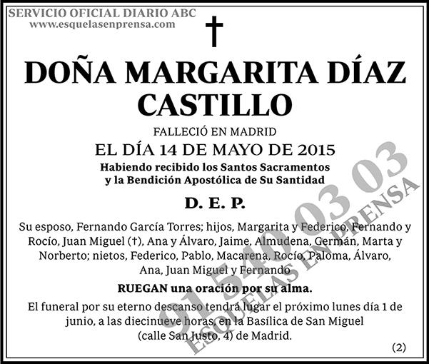 Margarita Díaz Castillo